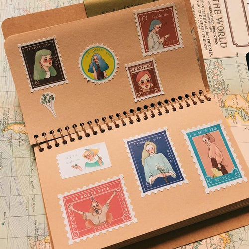 LDV Dearest Postage Stamp Stickers