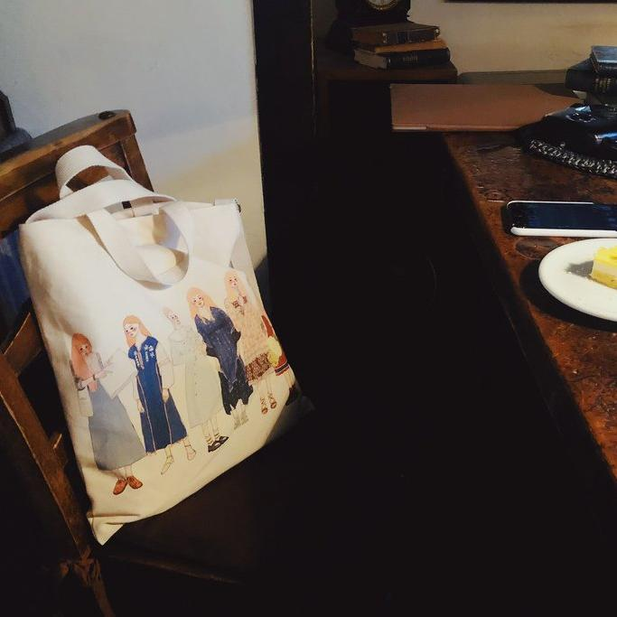 LDV [Dearest] Two Ways Canvas Bag
