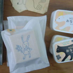 evakaku A Big Rubber Stamp - Bird/Bunny/Cat