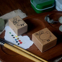 Yamadoro Rubber Stamp - Paint Your Own Colours