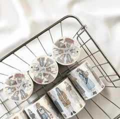 Pion: 46 Girls Washi Tape