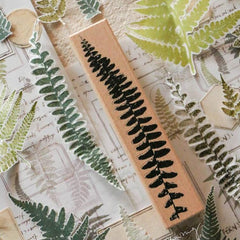 LCN Rubber Stamp Set - Fern Specimen
