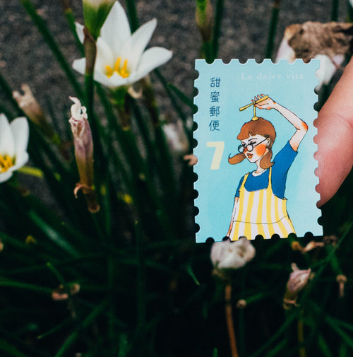 LDV Postage Stamp Stickers: Searching for Aurora