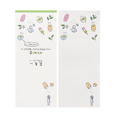 Wish Granting Good Luck Charm Notepad