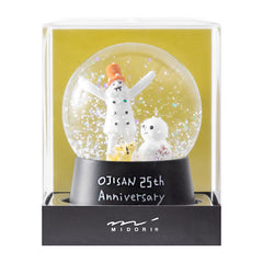 MD Ojisan 25th Anniversary Snow Globe