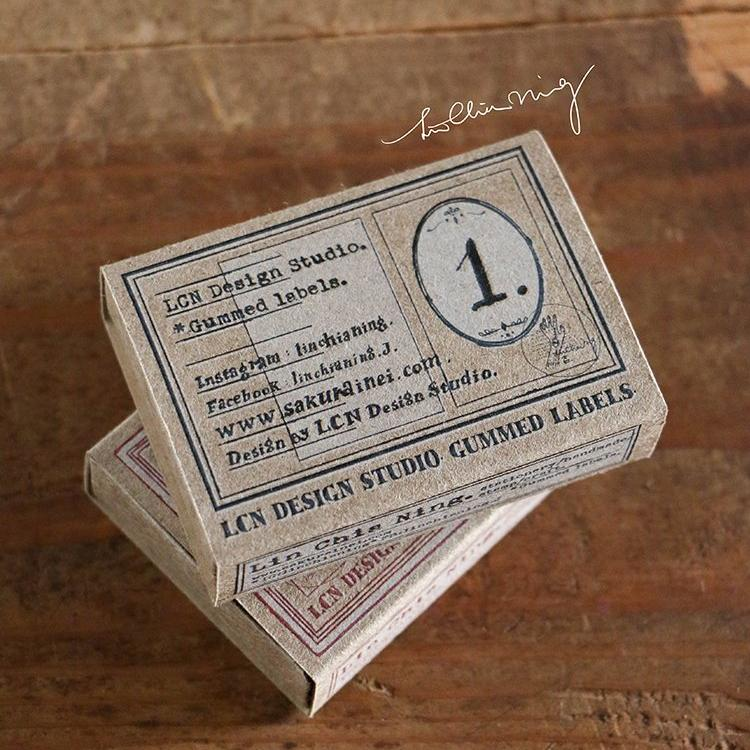 LCN Gummed Label Box - Specimen Labels