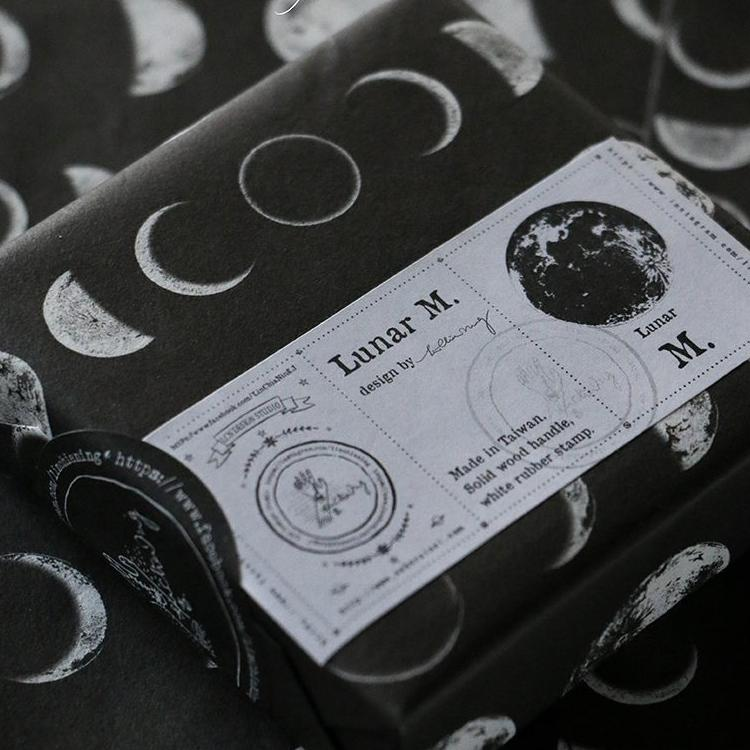 LCN Rubber Stamp Set - Lunar