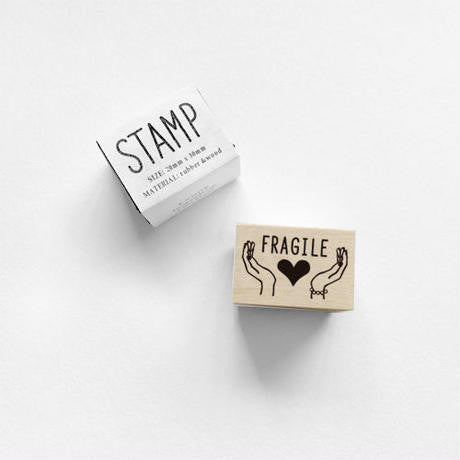 KNOOP Original Rubber Stamp - Fragile
