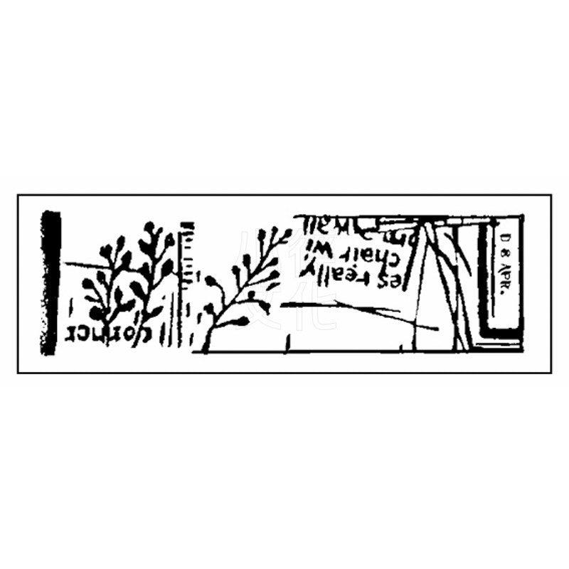 Chamil Garden Rubber Stamps Collection Vol.2