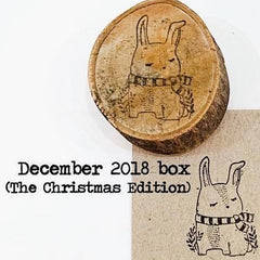 Black Milk Project Rubber Stamp - Bunny