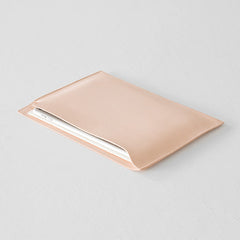MD Notebook Goat Leather Bag (Horizontal)