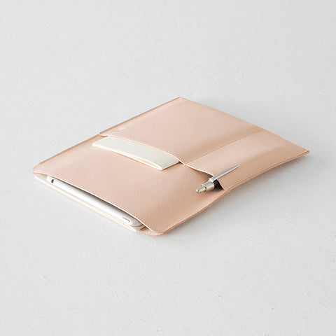 MD Notebook Goat Leather Bag (Vertical)