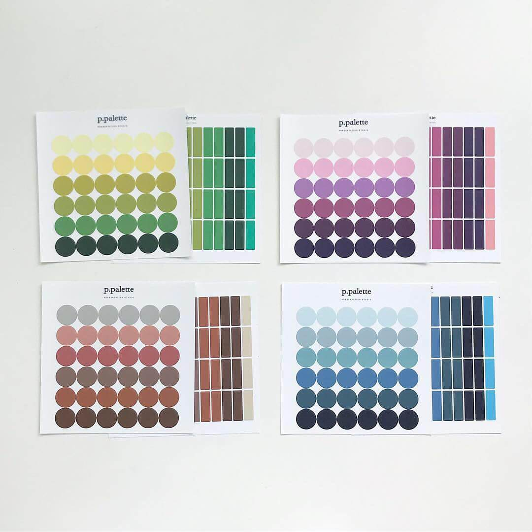 Palette Stickers - Autumn