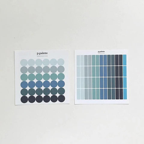 Palette Stickers - Winter