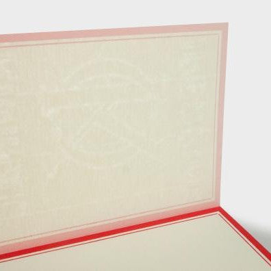 yuruliku Notepad - Red Frame