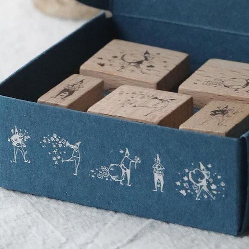 modaizhi 5th Anniversary Rubber Stamp Set