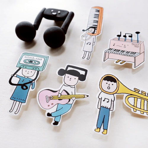 Yohand Studio Sticker Pack (3-9) Music Instruments