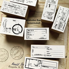 amnesiac Original Rubber Stamp Set - _________+
