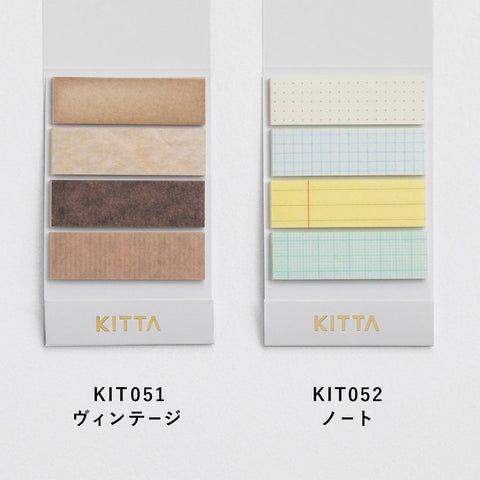 KITTA Washi Tape Stickers - KIT051 Vintage
