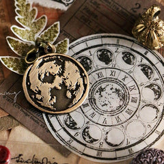 LCN Metal Stamps VI - Moon Phase