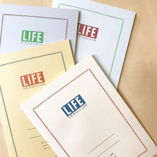 LIFE Vermilion Notebooks / Section