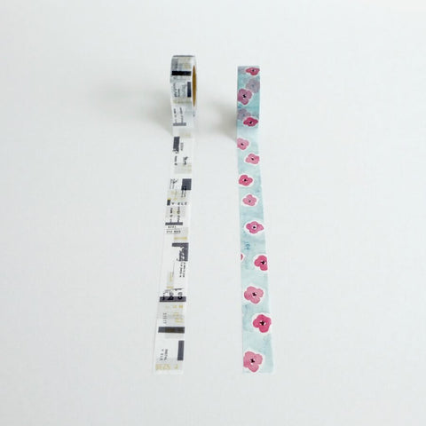 YOHAKU Original Washi Tape 047/048
