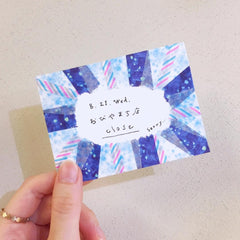 KITTA x paper message Washi Tape Stickers