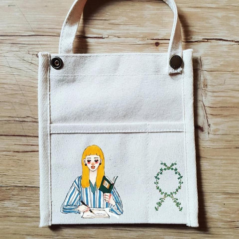 [Limited Edition] LDV Literature Girl Bag-in-Bag Organiser
