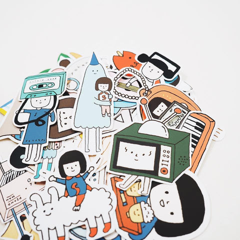 Yohand Studio Sticker Set (50pcs)