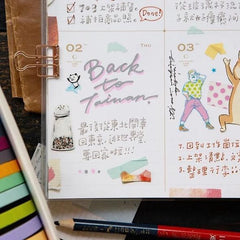 Hank's Colors Atelier Diary Book 2020