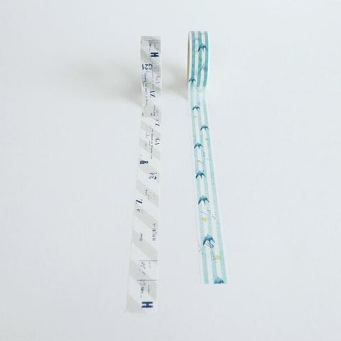 YOHAKU Original Washi Tape 051/052