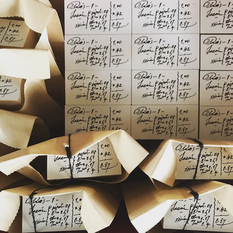 LampxPaperi Handwriting Memorandum Rubber Stamp