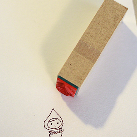 Kojima Inbo Rubber Stamp - Child Series