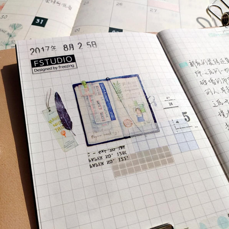 FStudio Washi Tape - F.Journal