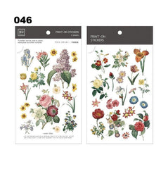 MU Print-On Sticker - Botanical Series III