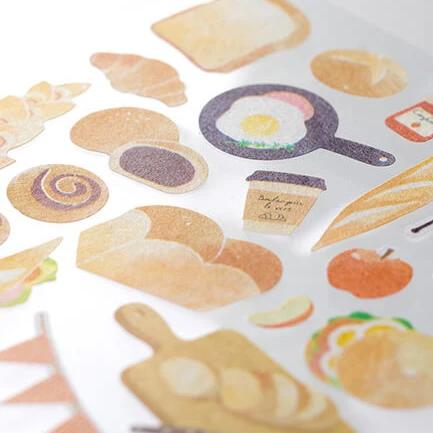 MD Washi Sticker Marché - Bread