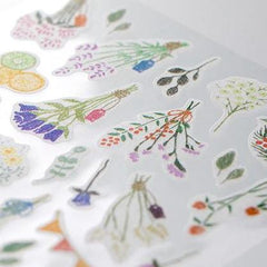 MD Washi Stickers - Marché Dried Flower