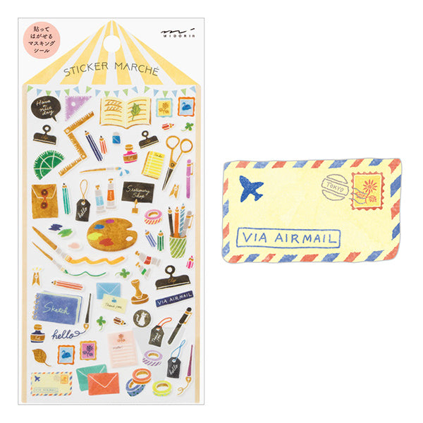MD Washi Stickers -  Marché Stationery