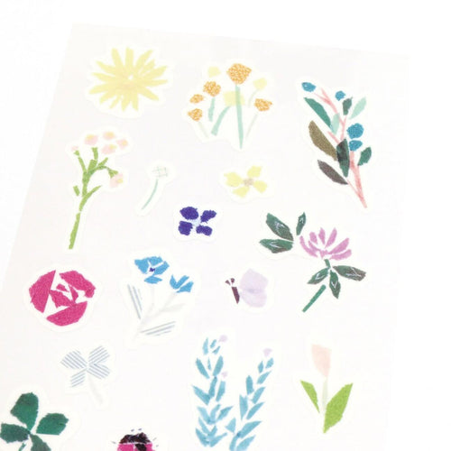 [My Favorite] Washi Sticker - wildflower
