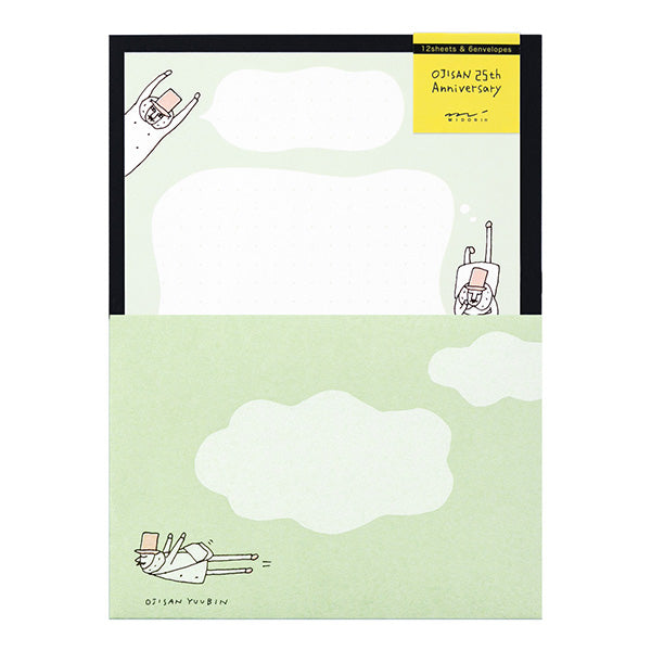 MD Ojisan 25th Anniversary Letter Set