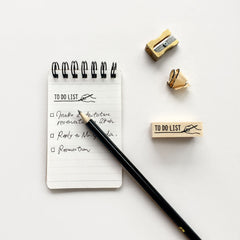 KNOOP Original Rubber Stamp - TO DO LIST