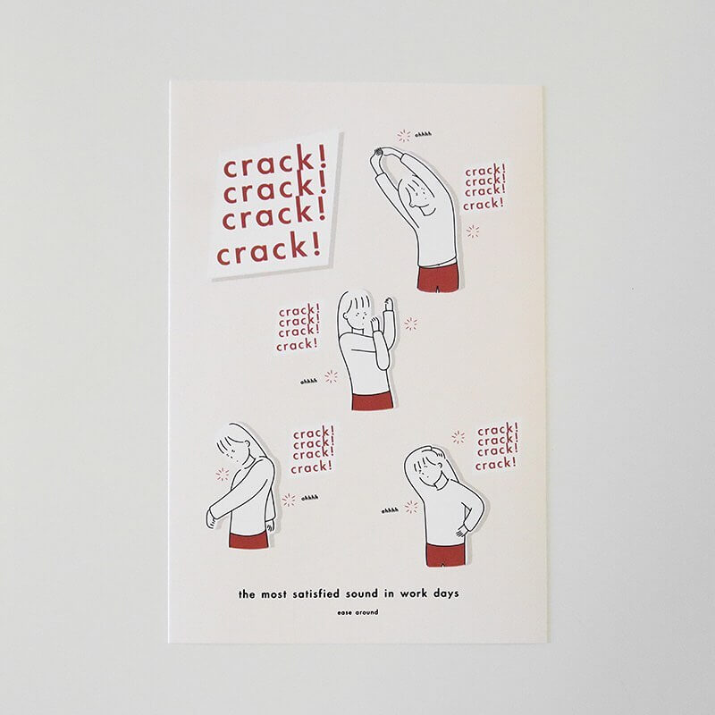 crack crack crack Sticker Sheet