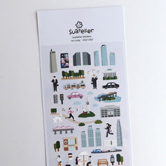 Suatelier Sticker -  City! City!