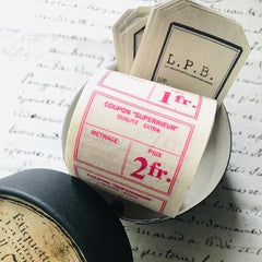 [Temporary Discontinued] LampxPaperi Price Tag Label Set