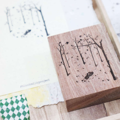 Black Milk Project Rubber Stamp - Autumn