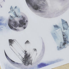MU Print-On Sticker - Watercolour Illustration Series