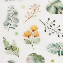MU Print-On Sticker - Botanical Series X