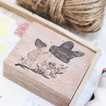 Black Milk Project Rubber Stamp - Birds Series
