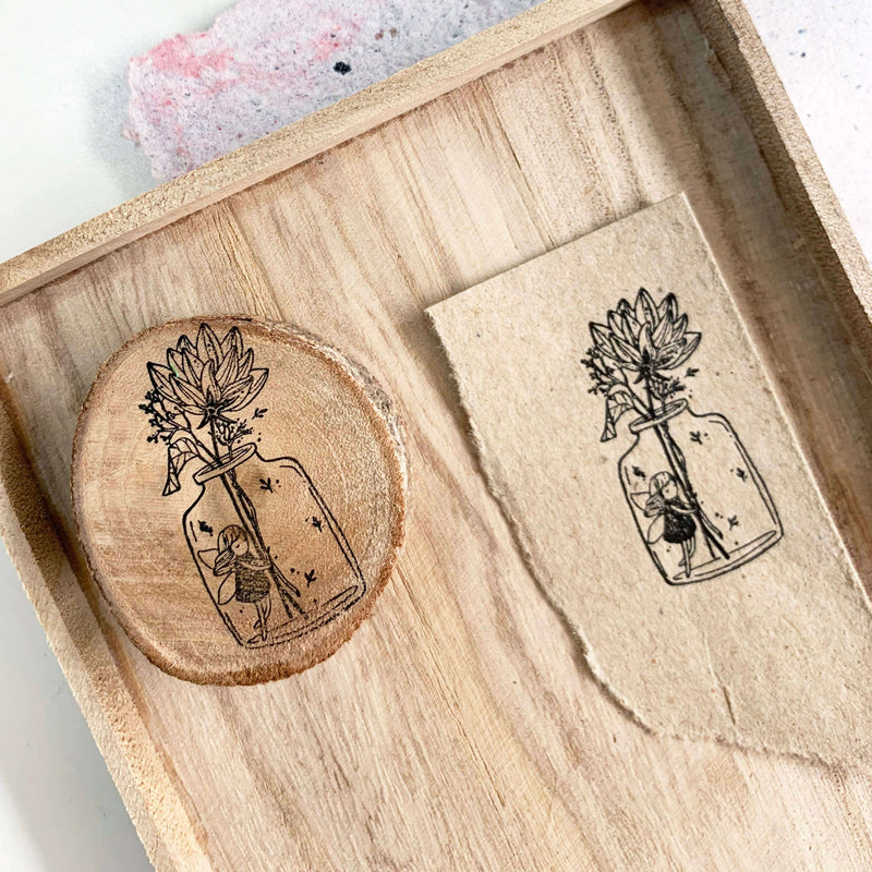 Black Milk Project Rubber Stamp - Bloom Fairy