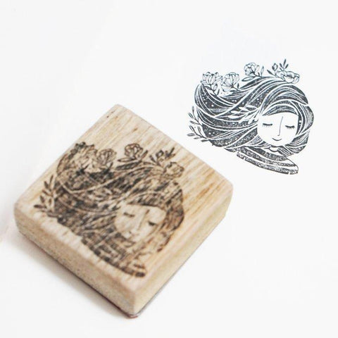 Black Milk Project Rubber Stamp - Breeze